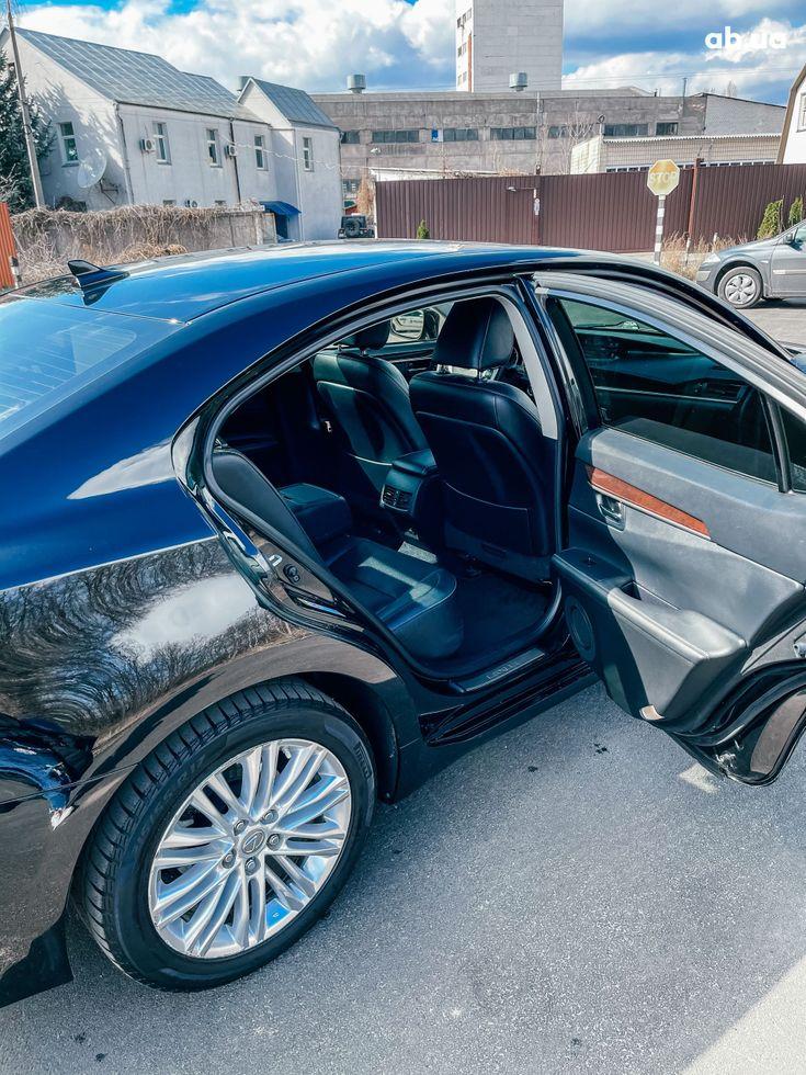 Lexus es 350 2013 черный - фото 16