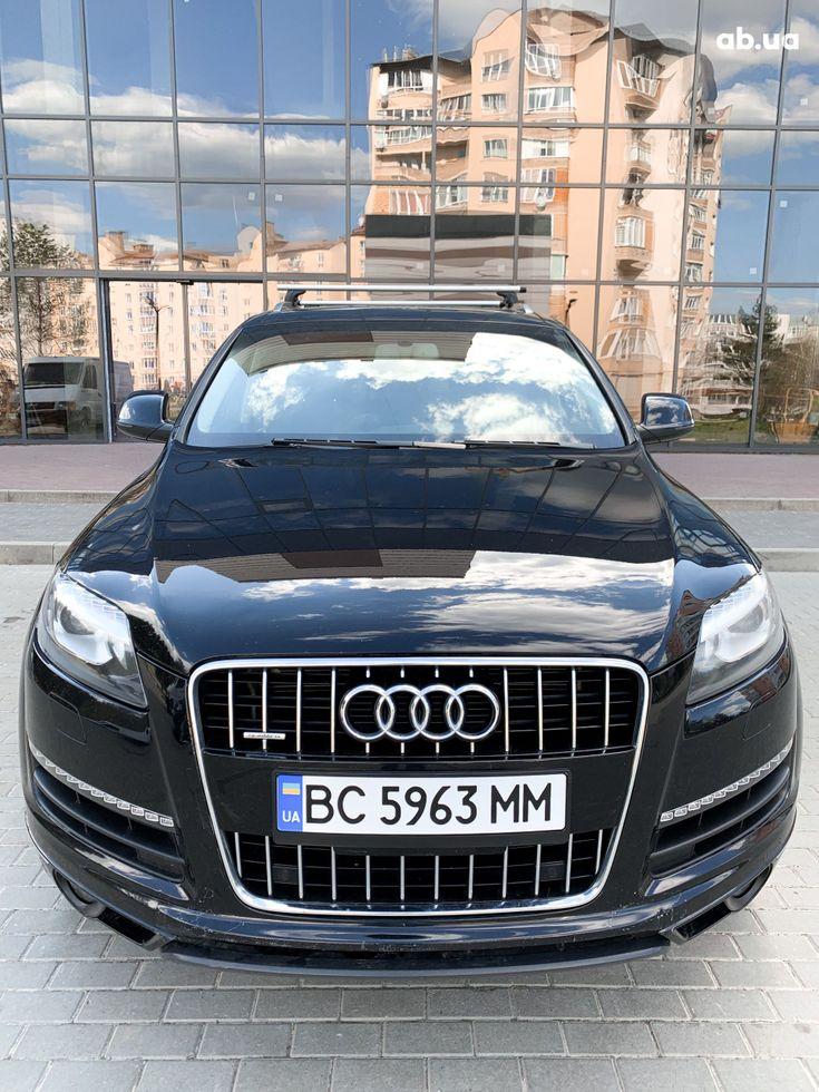 Audi Q7 2012 черный - фото 2