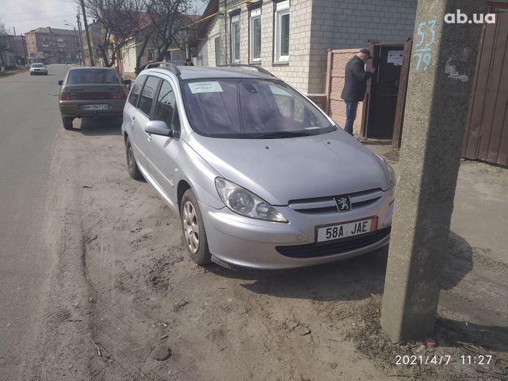 Peugeot 307 2005 серый - фото 1