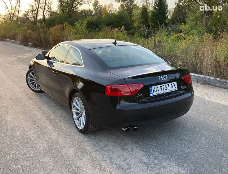 Audi A5 2014 черный - фото 2