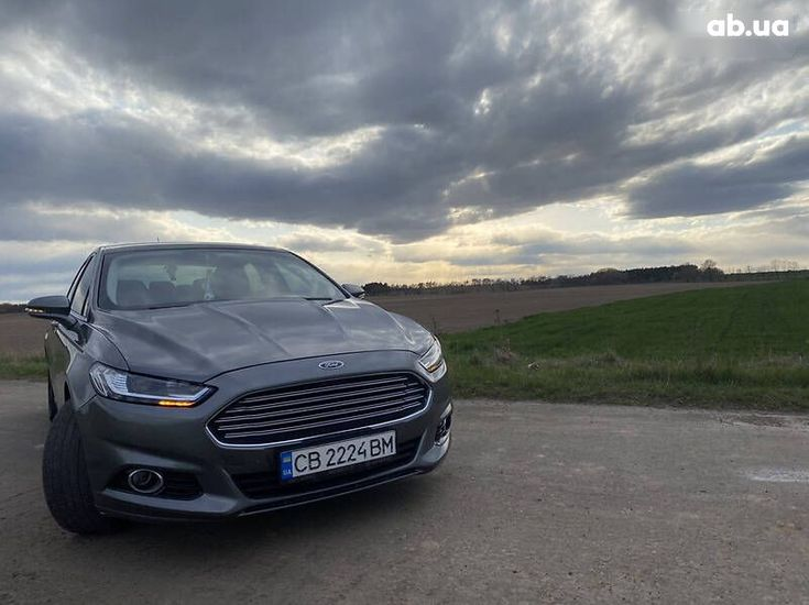 Ford Fusion 2014 серый - фото 19