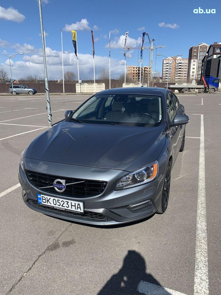 Volvo S60 2016 серый - фото 1