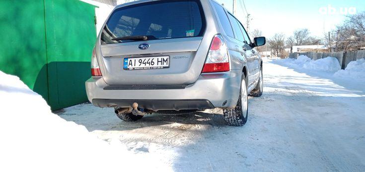 Subaru Forester 2006 серый - фото 3