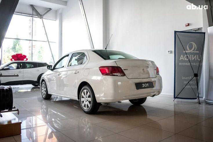 Peugeot 301 2020 белый - фото 4