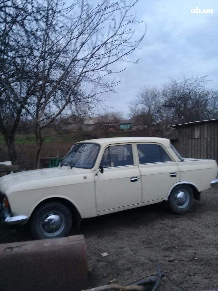 Москвич 412 1984 белый - фото 1