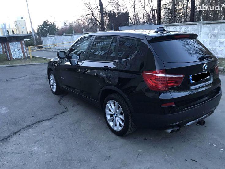 BMW X3 2013 черный - фото 4