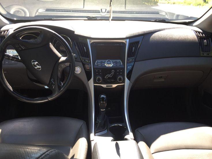 Hyundai Sonata 2011 черный - фото 7