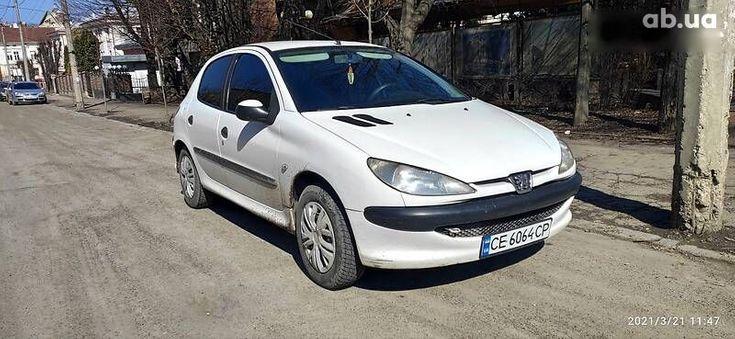 Peugeot 206 2008 белый - фото 7