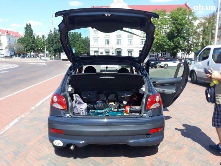 Peugeot 206 2009 серый - фото 11