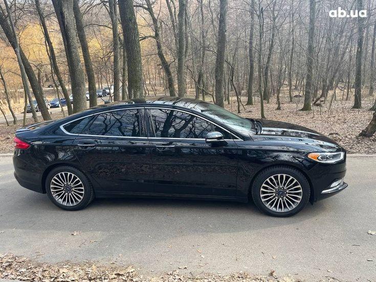 Ford Fusion 2017 черный - фото 3