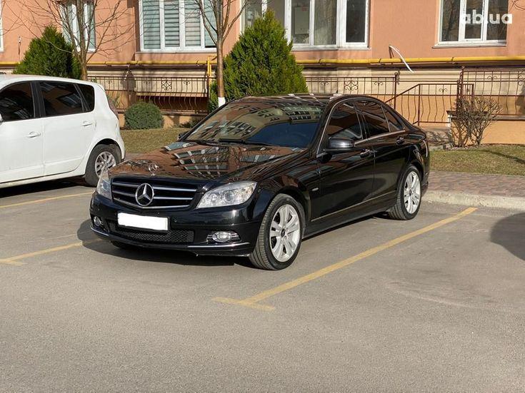 Mercedes-Benz C-Класс 2008 черный - фото 1
