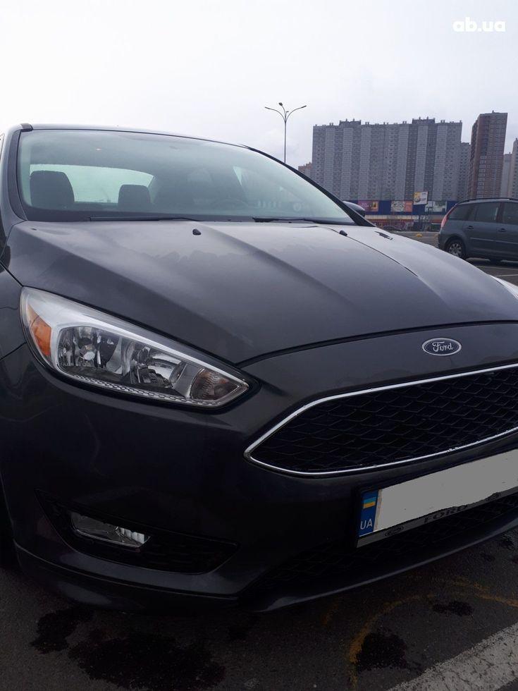 Ford Focus 2015 серый - фото 7