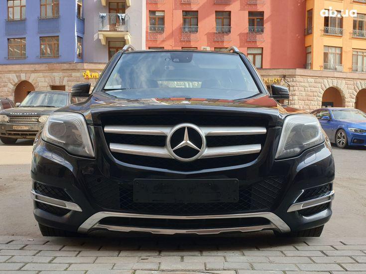Mercedes-Benz GLK-Класс 2012 черный - фото 1