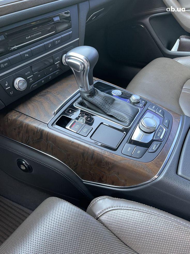 Audi a6 allroad 2013 коричневый - фото 15