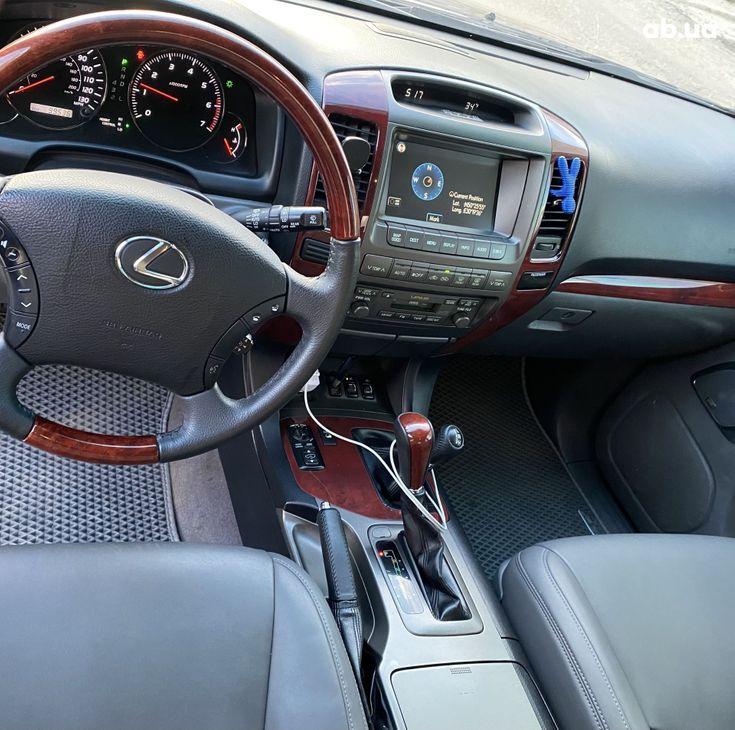 Lexus GX 2008 синий - фото 3