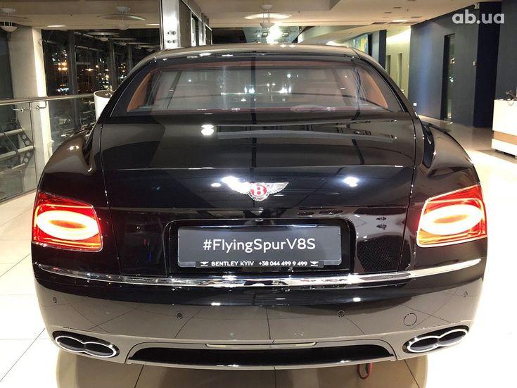 Bentley Flying Spur 2018 черный - фото 3