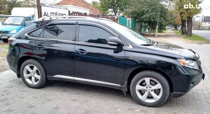 Lexus RX 2010 черный - фото 4