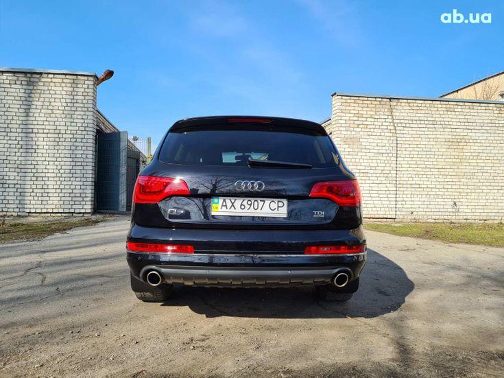 Audi Q7 2012 черный - фото 6