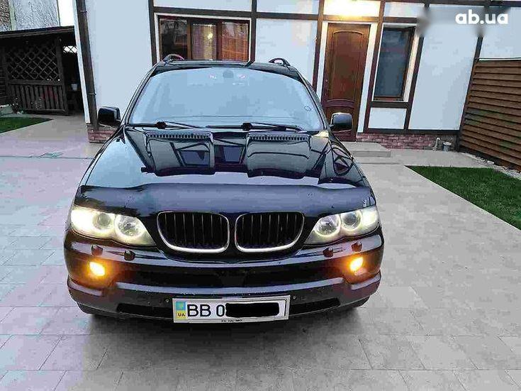 BMW X5 2005 черный - фото 2