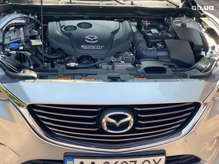 Mazda 6 2015 серебристый - фото 12