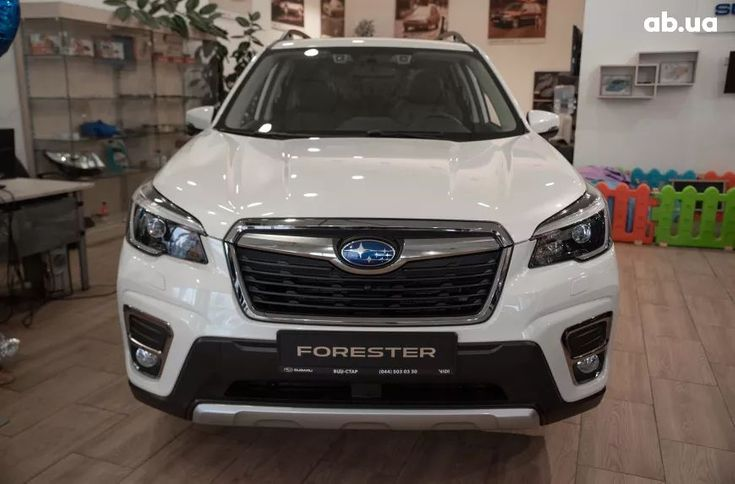 Subaru Forester 2020 белый - фото 2