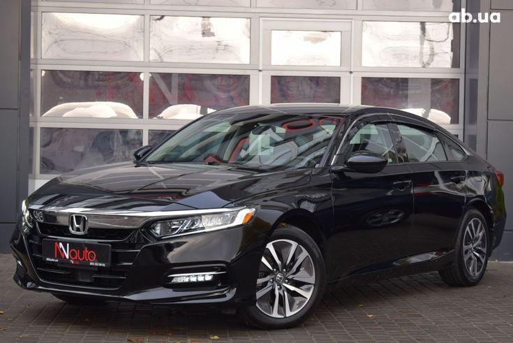 Honda Accord 2020 черный - фото 1