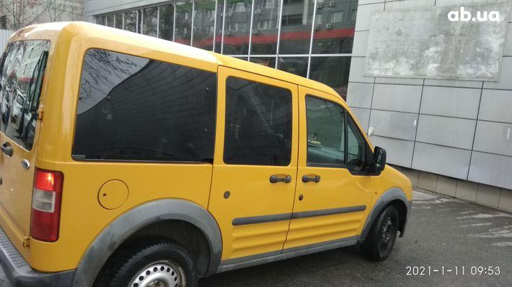 Ford Transit Connect 2006 желтый - фото 13