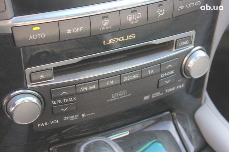 Lexus LS 2010 черный - фото 6