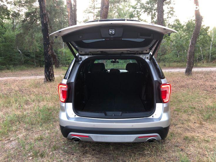 Ford Explorer 2016 серебристый - фото 17