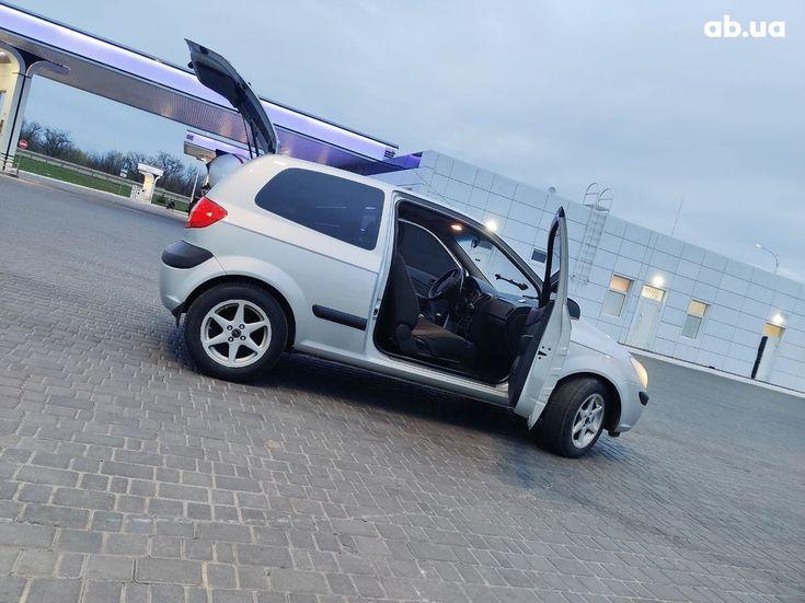 Hyundai Getz 2005 серый - фото 7