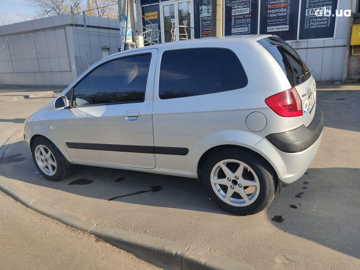 Hyundai Getz 2005 серый - фото 15
