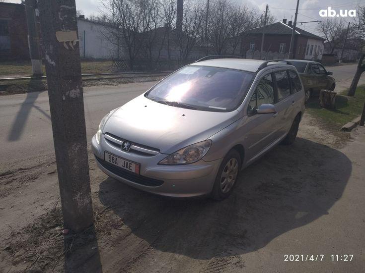 Peugeot 307 2005 серый - фото 13