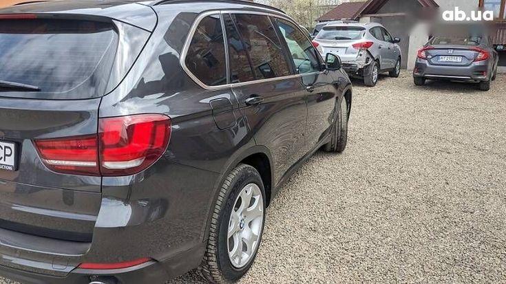 BMW X5 2014 серый - фото 12