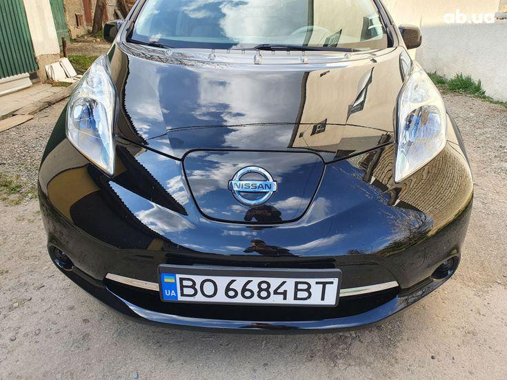 Nissan Leaf 2014 черный - фото 3