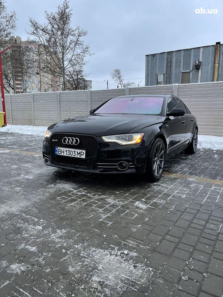 Audi A6 2013 черный - фото 9
