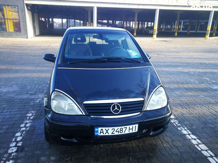 Mercedes-Benz A-Класс 2002 черный - фото 4