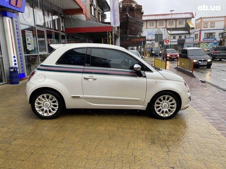Fiat 500 2011 белый - фото 2