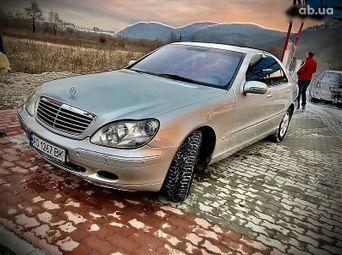 Автомобиль бензин Мерседес-Бенц S-Класс 2000 года б/у - купить на Автобазаре