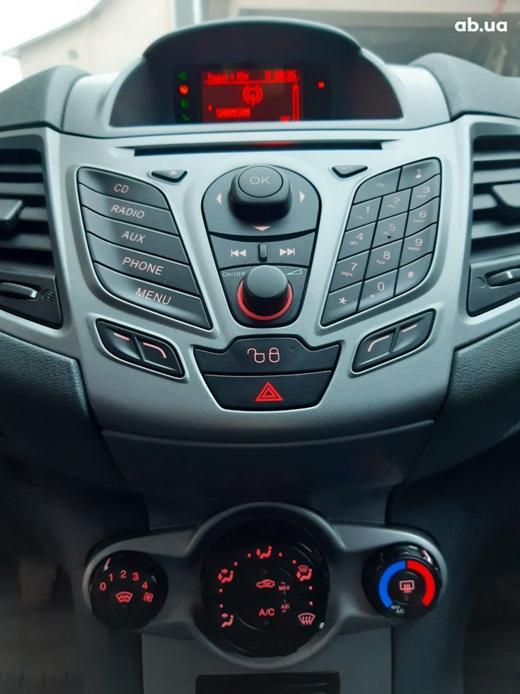 Ford Fiesta 2011 синий - фото 13