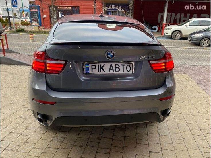 BMW X6 2014 серый - фото 5