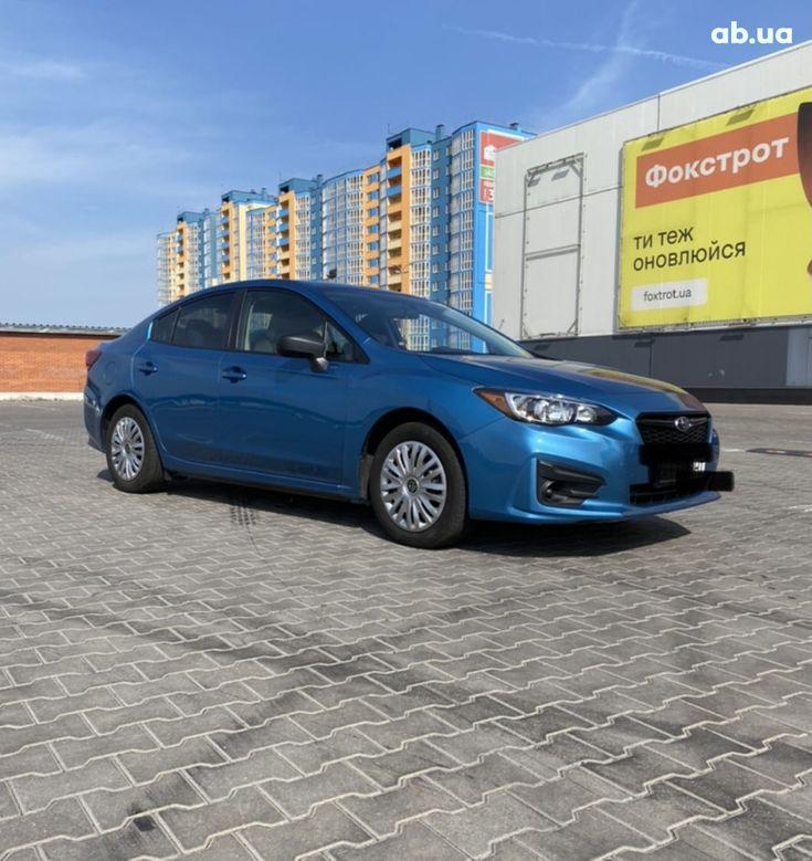 Subaru Impreza 2018 синий - фото 1