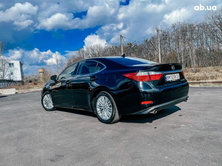 Lexus es 350 2013 черный - фото 14