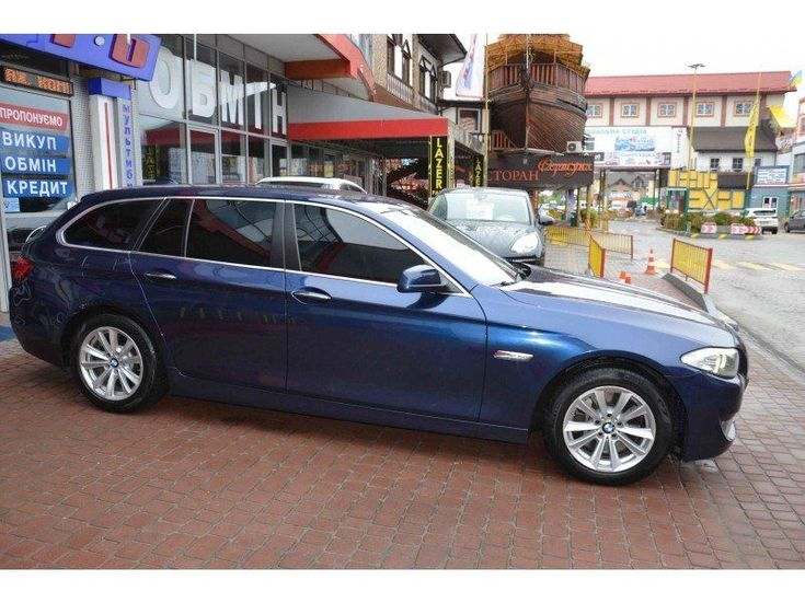 BMW 5 серия 2011 синий - фото 2