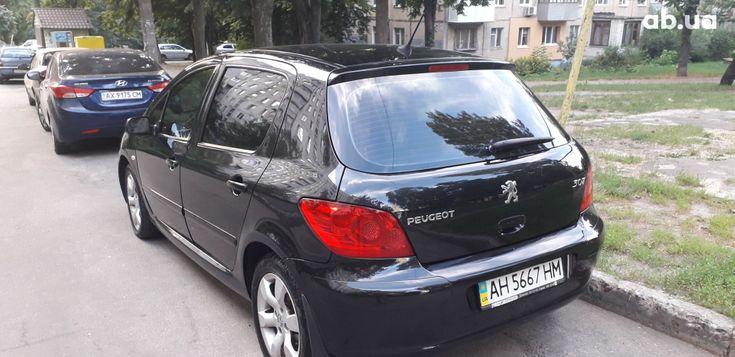 Peugeot 307 2006 черный - фото 4