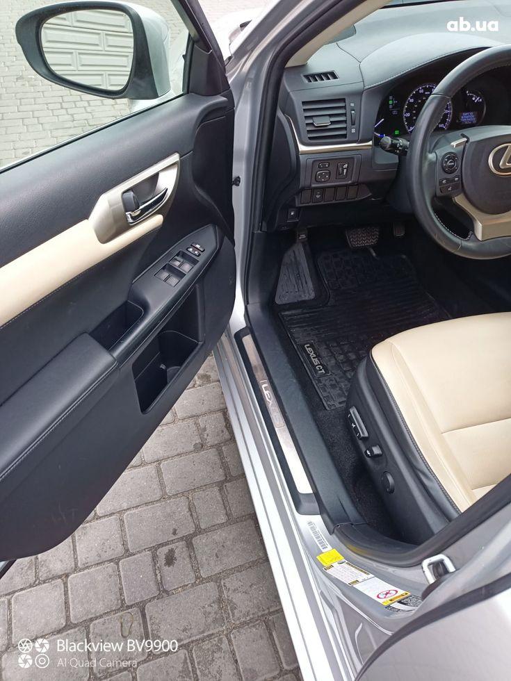 Lexus CT 2014 фиолетовый - фото 10
