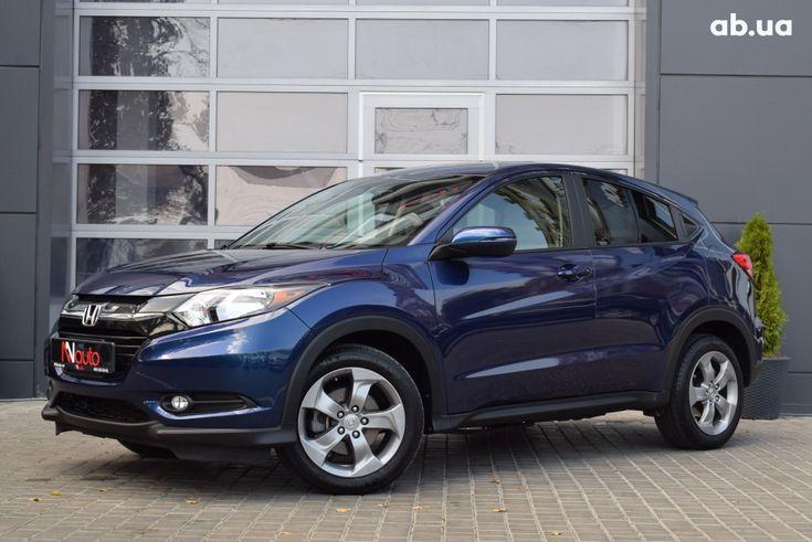 Honda HR-V 2018 синий - фото 10