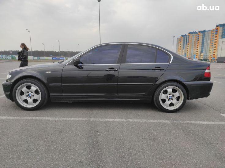 BMW 3 серия 2003 черный - фото 4