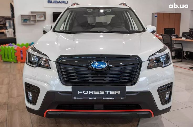 Subaru Forester 2020 белый - фото 3