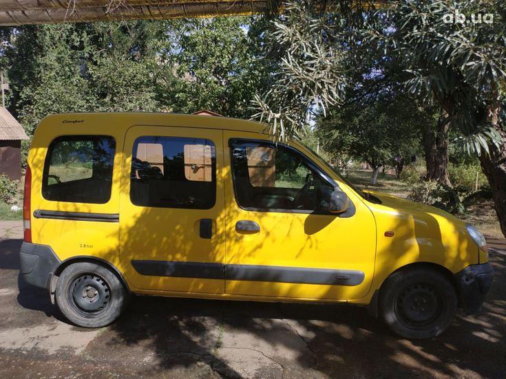 Renault Kangoo 2003 желтый - фото 5
