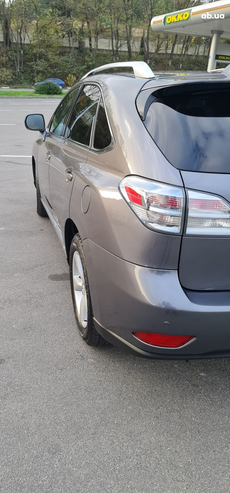 Lexus rx 350 2013 серый - фото 11